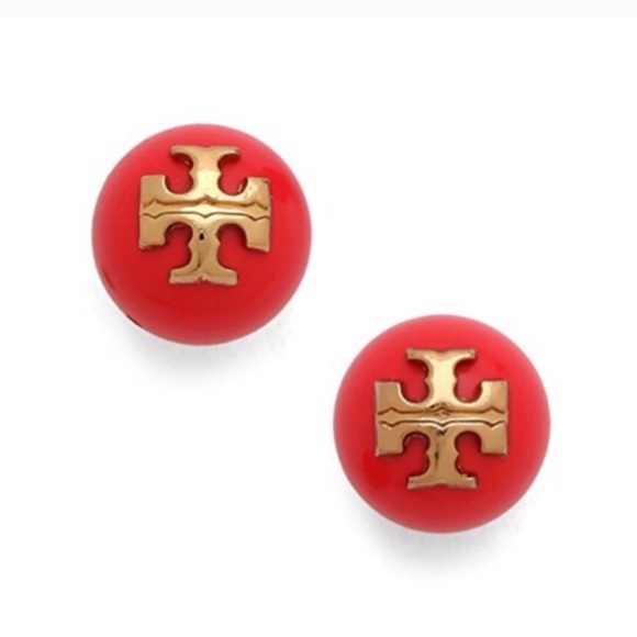 Tory Burch Jewelry - TORY BURCH • Evie Logo Earrings